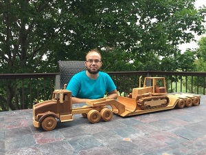 bulldozer for wells